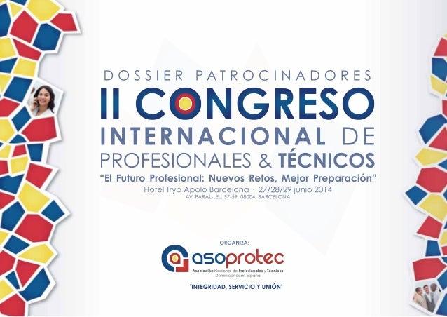 II Congreso Internacional de Profesionales & Técnicos