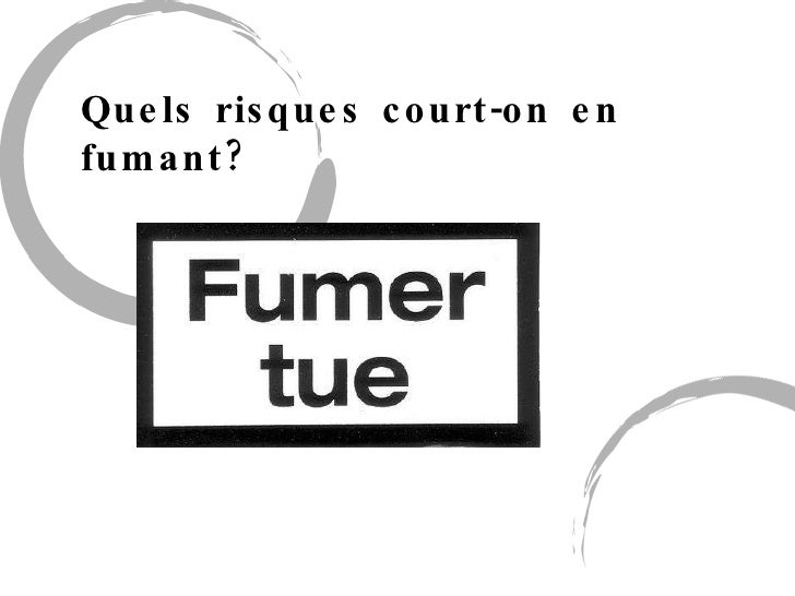 Quels risques court-on en fumant?