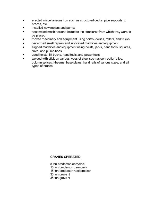 resume outline for trades templates sles pinterest guidelines on    iron worker resume an amaz ing resume philippe dubost custom