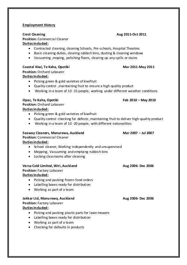 Housekeeping Resume Sample  Resume Companion