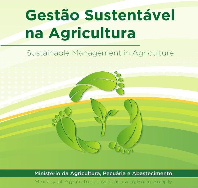 """2ª edição do livro """"Gestão Sustentável na Agricultura"""""""