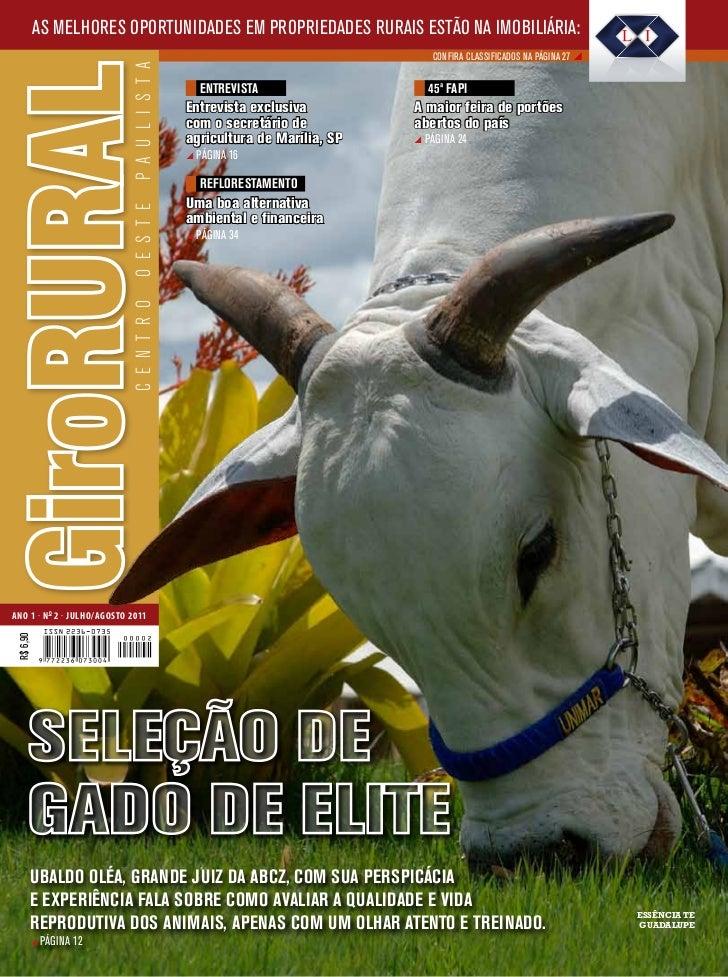 2ª Edição Revista Giro Rural Centro Oeste Paulista
