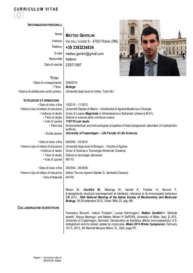 Curriculum Vitae Ita Mycorezone Com
