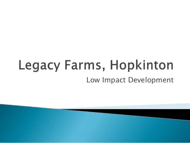 Elaine Lazarus, Director of Land Use, Planning & Permitting, Town of Hopkinton