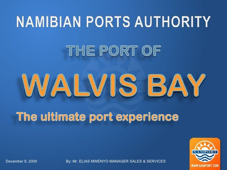 Namport Walvis Bay Port Development