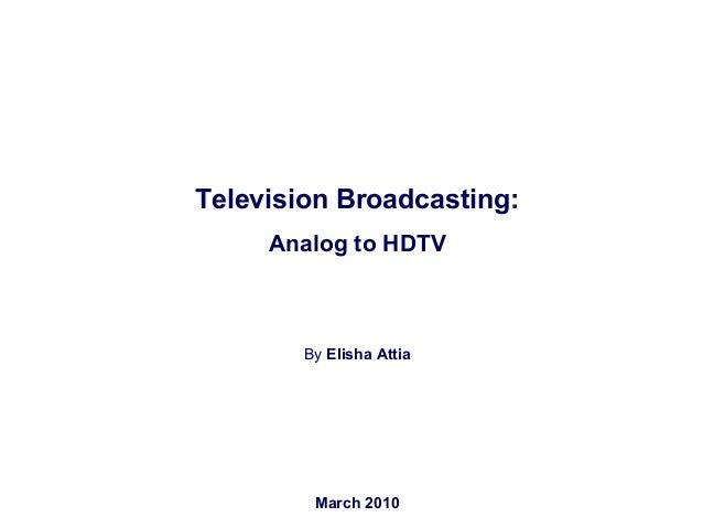 Elisha Attia Logtel from ANALOG 2 HDTV