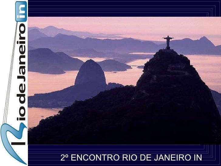 2º ENCONTRO RIO DE JANEIRO IN