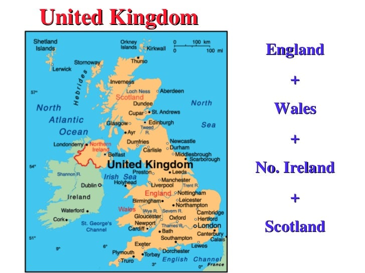 United Kingdom England + Wales + No. Ireland + Scotland