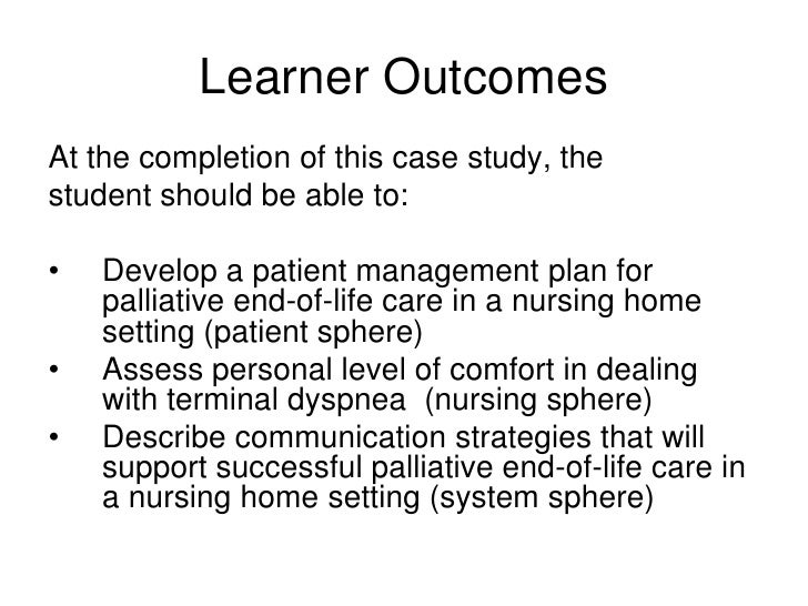 palliative care during end of life within the acute care nursing essay Palliative care is an is not limited to end of life care palliative in nursing homes and reductions in acute care use and.