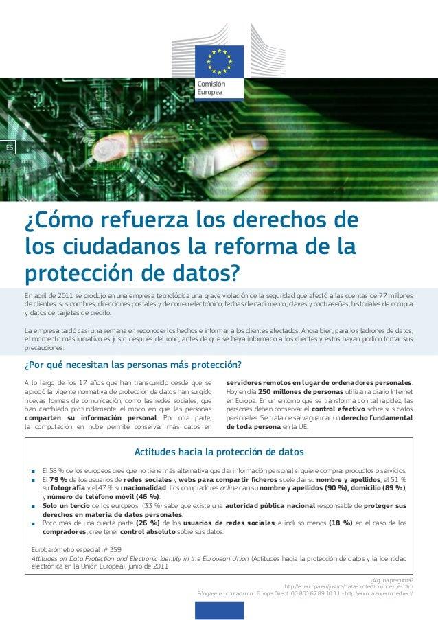 Com reforça els drets dels ciutadans la reforma de la protecció de dades?