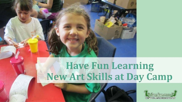 Summer day camp not only gets kids out running and swimming in the sunshine, it also lets them unleash their artistic crea...