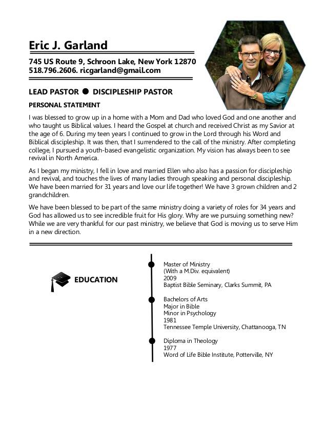 ministry resume template formal resume outline sle