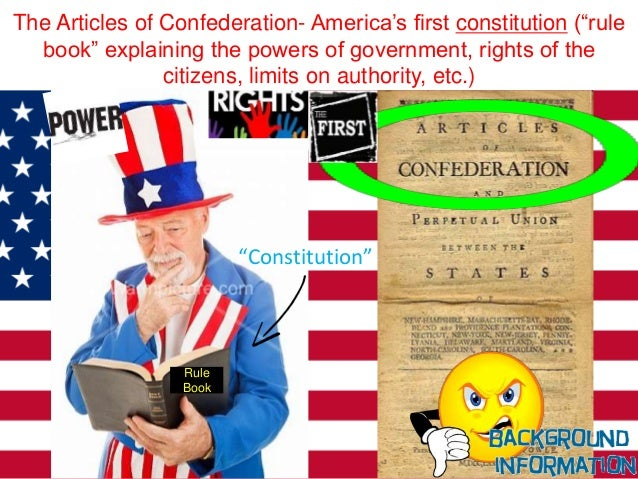 Why did the articles of confederation fail? | Yahoo Answers