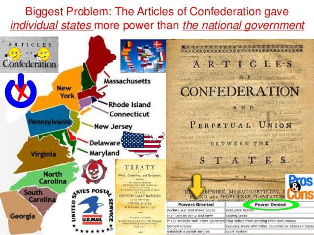 Under the Articles of Confederation?