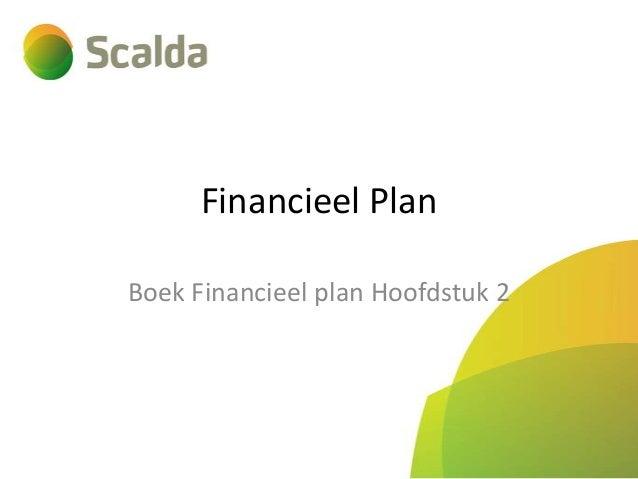 Financieel Plan Boek Financieel plan Hoofdstuk 2