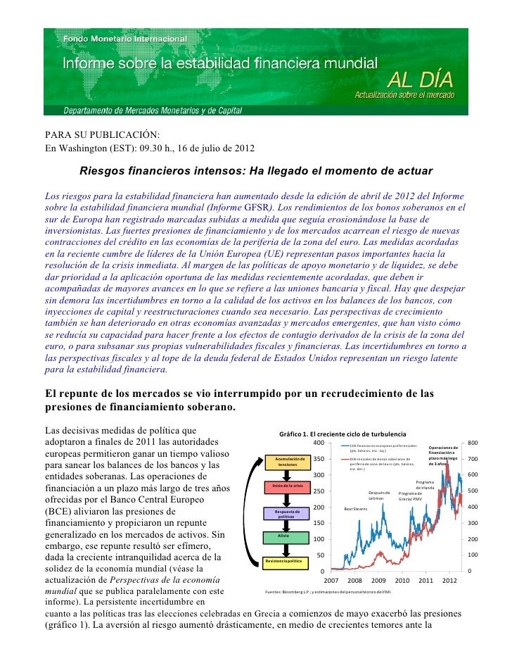 (2)FMI: Informe estabilidad financiera
