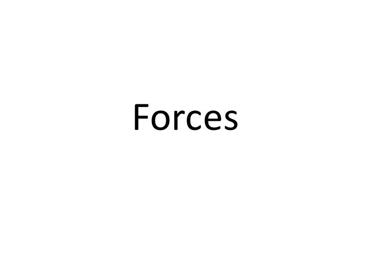 2 Forces