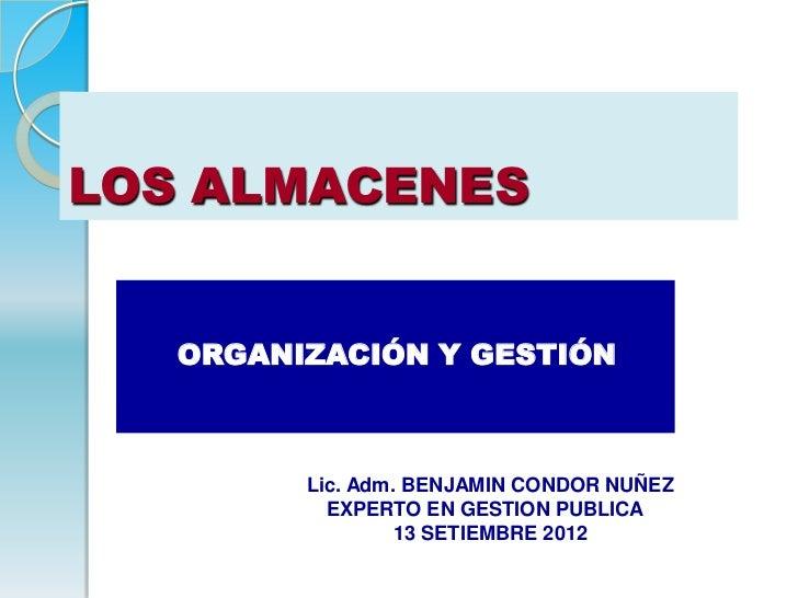 2 gestion de almacenes 13 setiembre 2012 celap bcn