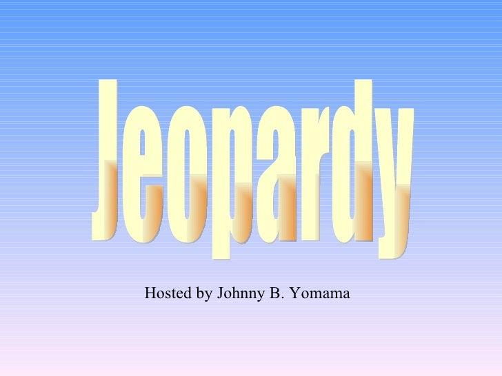 goal setting jeopardy