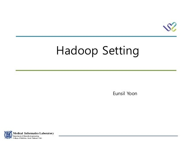 hadoop setting yes