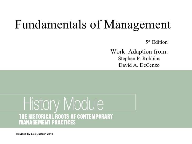 2 History Module
