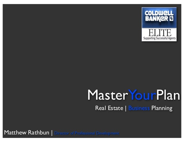 Coldwell Banker Elite Business Planning