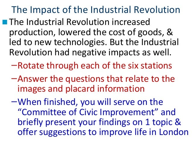 the factors that hyped up the industrial revolution What is 'industrialization' the industrial revolution led to analyze geographical industrial service sector data to determine which factors influence.