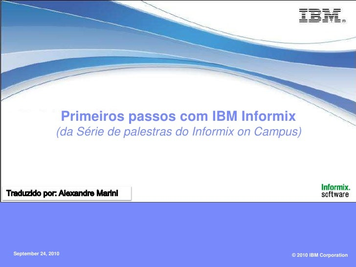 2 Informix Introduction