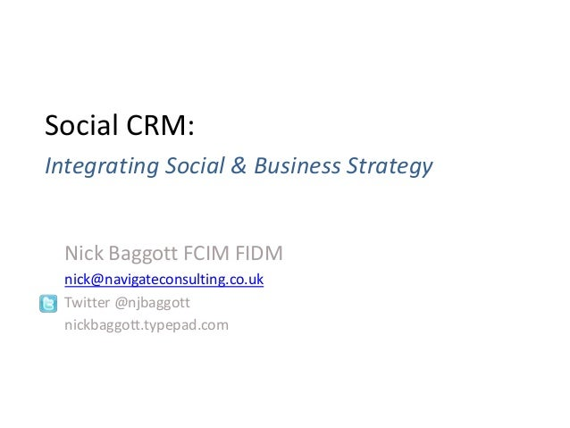 2 Integrated Social and Business Stategy