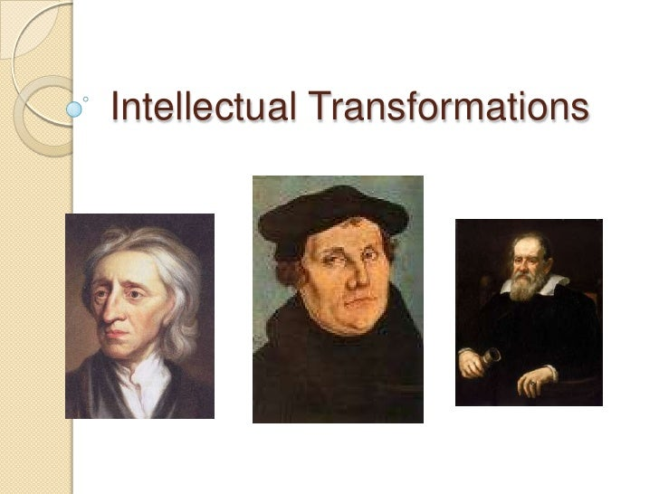 Intellectual Transformations