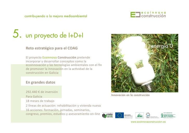 5.   un proyecto de I+D+I      Reto  estratégico  para  el  COAG                                                ...
