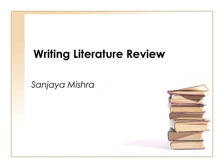Critical Literature Review Dissertation