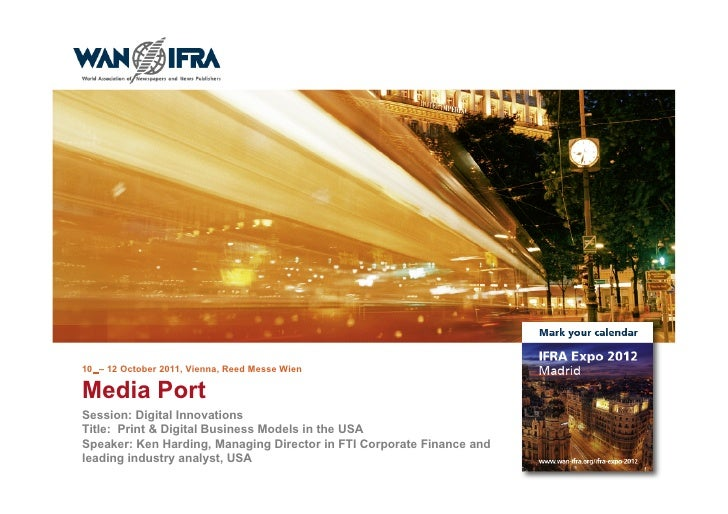 Print & digital Business Models in the USA