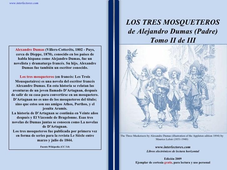 2los Tres Mosqueteros De Alejandro Dumas (Padre)   Tomo Ii