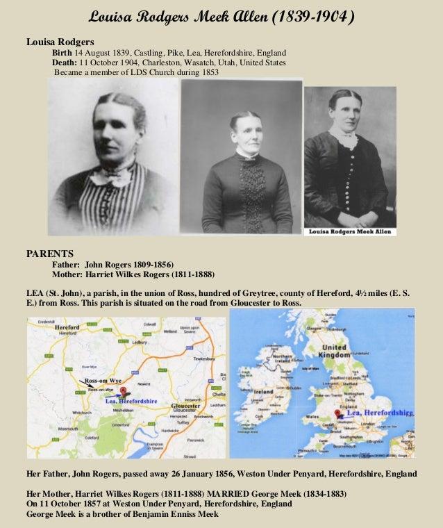 Louisa Rodgers Meek Allen
