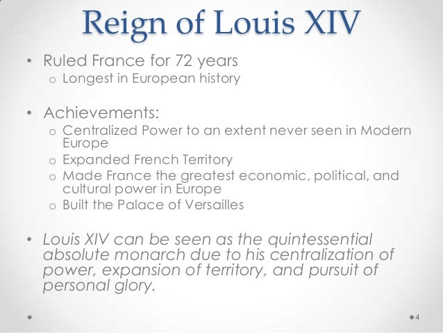 an analysis of louix xiv his absolute monarchy in france Louis xiv ruled france for 72 years, and in that time transformed  it would have  gone against his sense of absolutism, said gudek snajdar,  everything in the  versailles of louis xiv had a symbolic meaning, said schmidt.