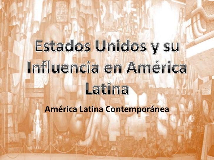 América Latina Contemporánea