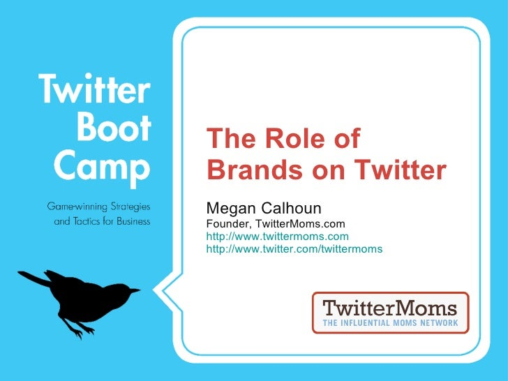 The Role of Brands on Twitter