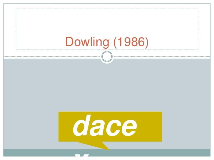 Dowling (1986)<br />dacex<br />