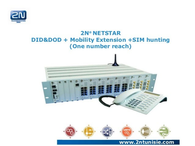 2N® NETSTARDID&DOD + Mobility Extension +SIM hunting          (One number reach)                          www.2ntunisie.com