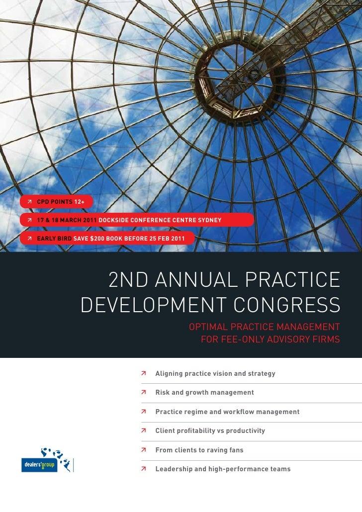 2nd Annual Practice Development Congress