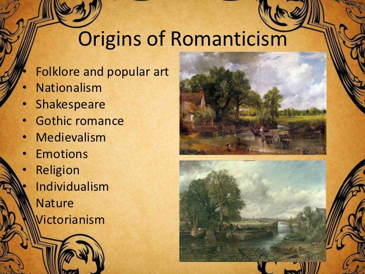 Write an essay on romanticism or post-impressionism?