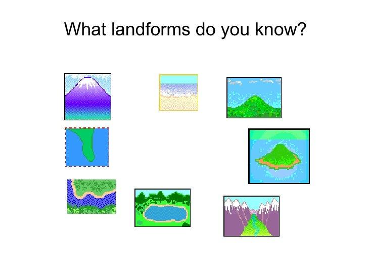 2nd Grade Landform Ramel