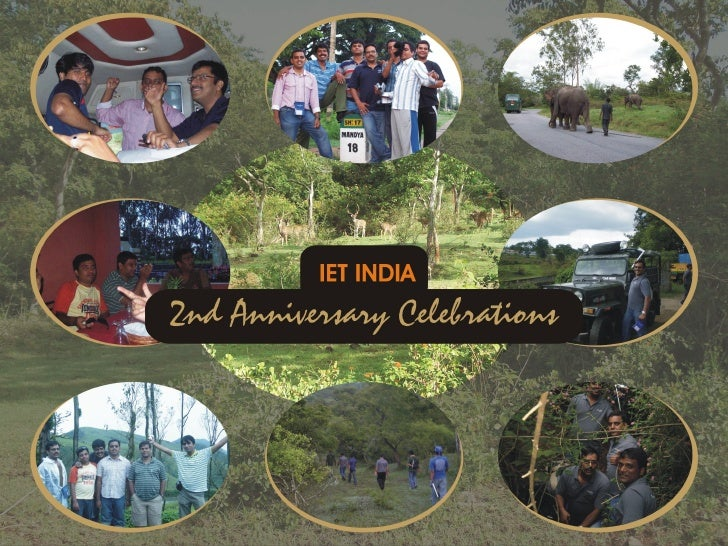 2nd Anniversary Celebrations Iet India