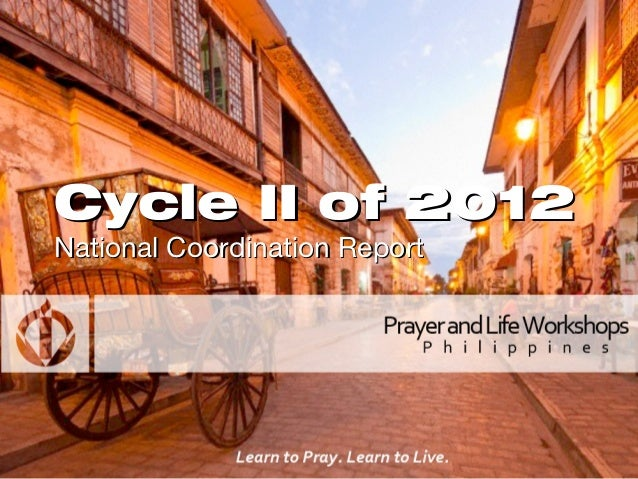 Cycle II of 2012National Coordination Report