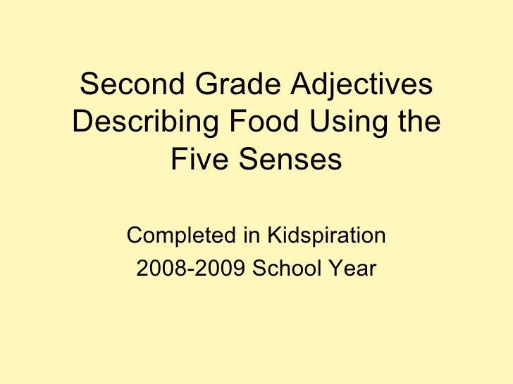 Second Grade Adjectives