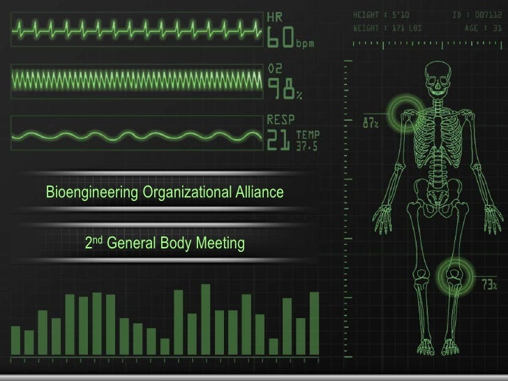 Bioengineering Organizational Alliance<br />2nd General Body Meeting<br />
