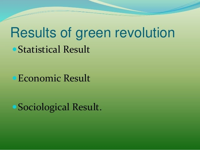 green revolution in punjab case study