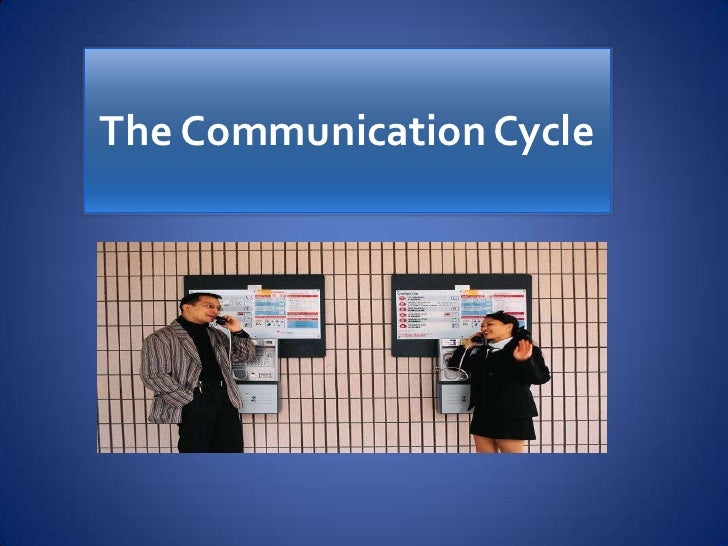 The Communication Cycle             .