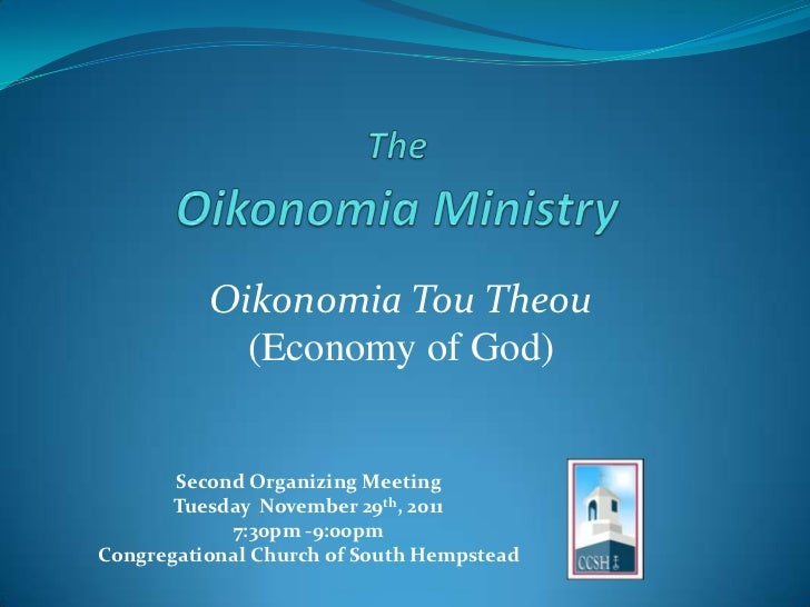 Oikonomia Ministry_Planning Meeting #2